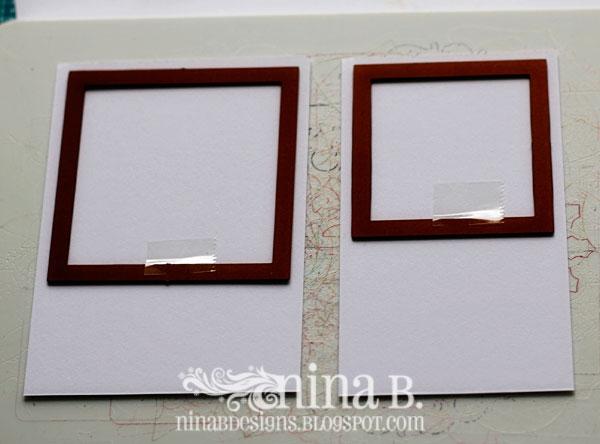 how to make a polaroid frame
