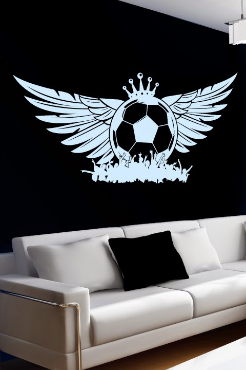 soccer wall decals by walltat