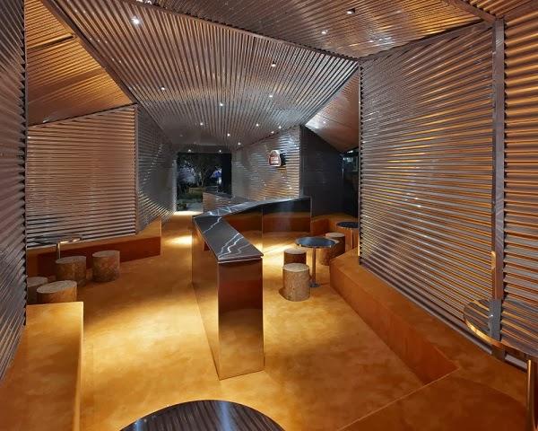 Dise o interior bar casa cor bar belo horizonte arquitexs for Muebles para bar modernos