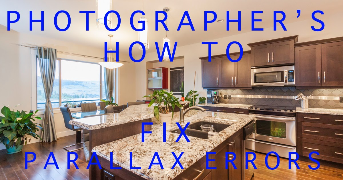 A photographer's how to on fixing parallax errors in your interior photos by Chris Gardiner www.cgardiner.ca
