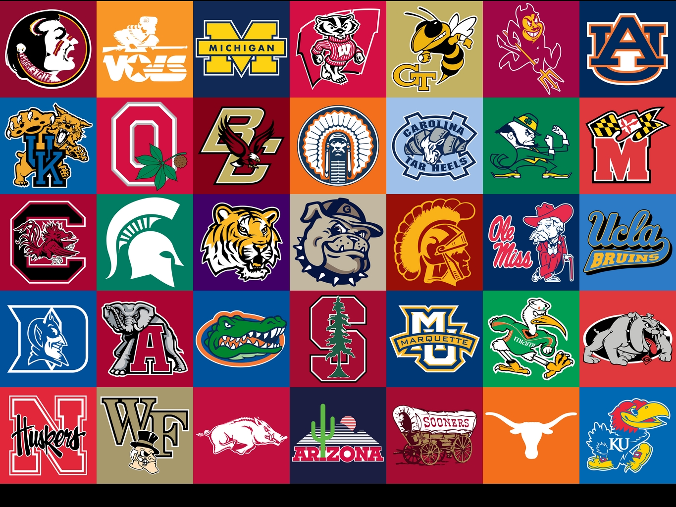 all college logos wallpapers - photo #2