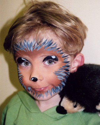 Art Now and Then: Face Painting - Cute Face Paint Ideas For Halloween