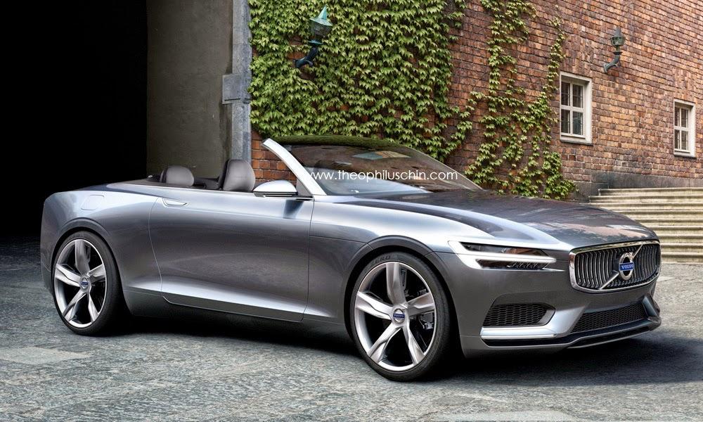 modellneuheiten neues volvo cabrio kommt 2016 scandicsteel
