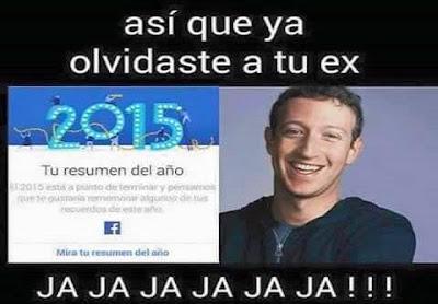 Resumen del año de Facebook