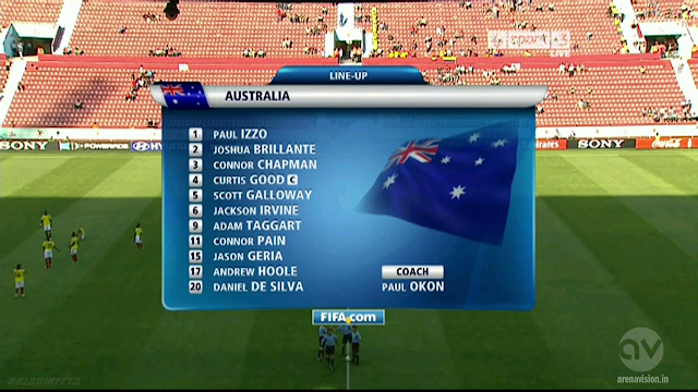 U-20 World Cup - Colombia vs Australia