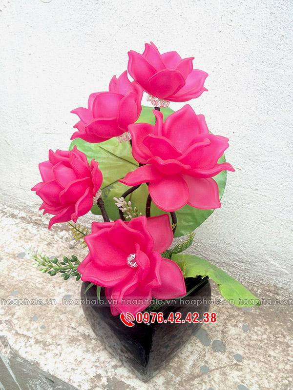 Địa chỉ bán nguyên liệu làm hoa pha lê tại Hà Nội