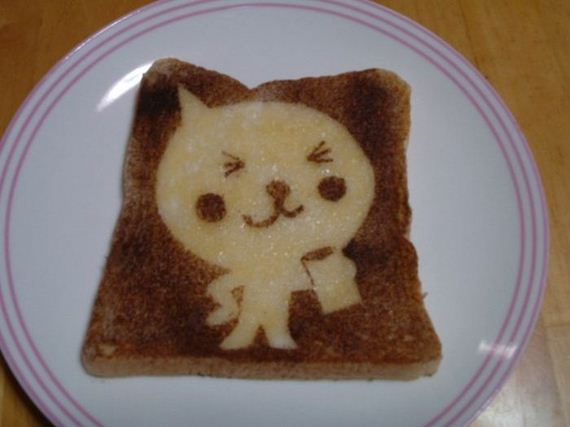 Creative Art on Toast