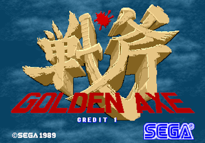 Press Start - Golden Axe