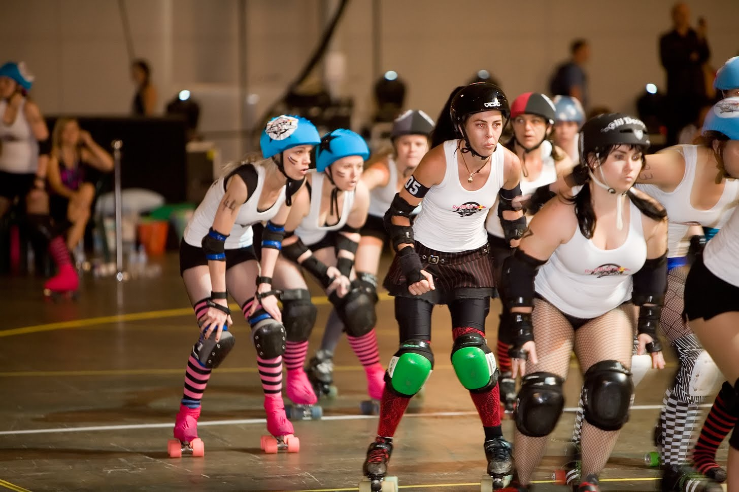 Trojan classic motorcycles sws rockets roller derby league i had no idea this was going on just faint memories of old movies i used to watch remind me of roller derby now check out these girls flat tracking on m4hsunfo