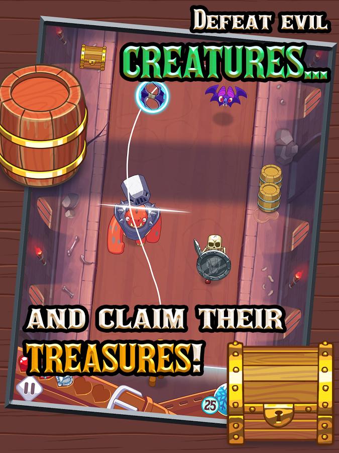 صورة من لعبة Monster Slash للاندرويد