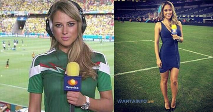 Foto Hot Reporter Seksi Meksiko di Piala Dunia 2014