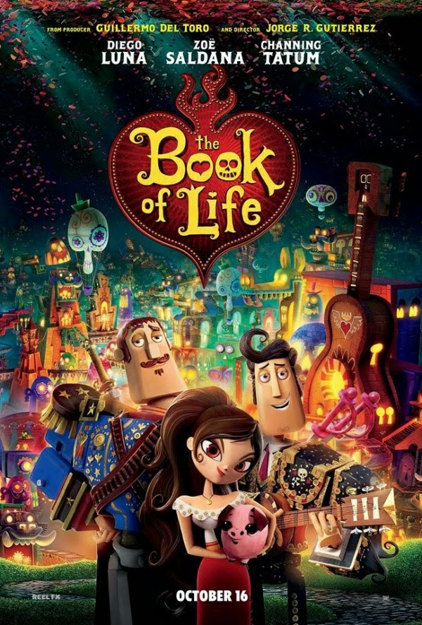 Film The Book of Life 2014 di Bioskop