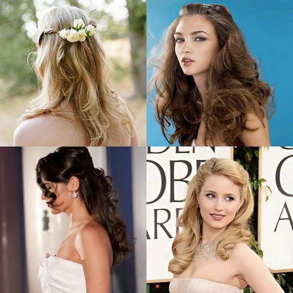 Xu hướng kiểu tóc cô dâu mùa thu 2014 mới lạ và bay bổng9