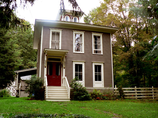 Home for sale charming italianate in brooktondale ny for Italianate homes for sale
