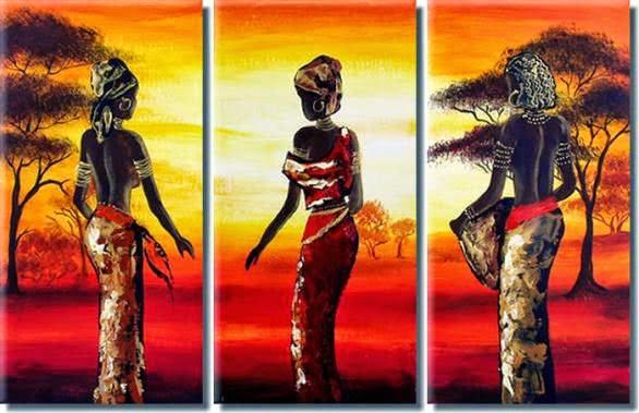 Canvas tablo d nyas - Decoracion africana ...