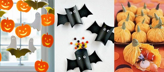 Ideas para halloween blog atendiendo necesidades - Manualidades para decorar halloween ...