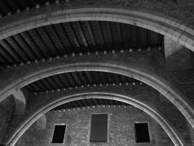 Salo del Tinell inside the Palau Reial in Barcelona
