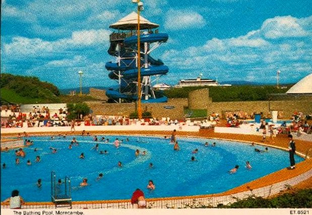 bubbles outdoor pool morecambe plastic dolls