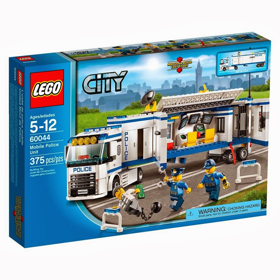 detoyz shop 2014 lego city police town sets. Black Bedroom Furniture Sets. Home Design Ideas