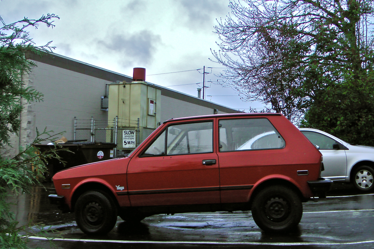 Old Parked Cars 1986 Yugo Gv Great Value
