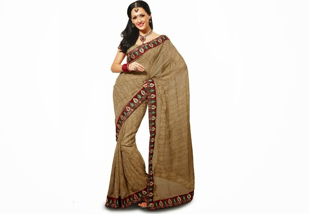 Beautiful Latest Style Indain Saree Wallpapers Free Download