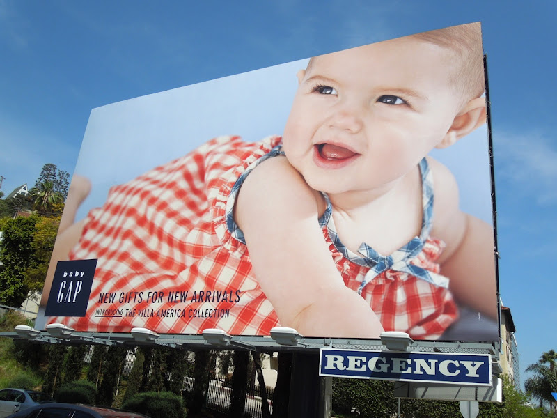Baby Gap Villa America Collection billboard