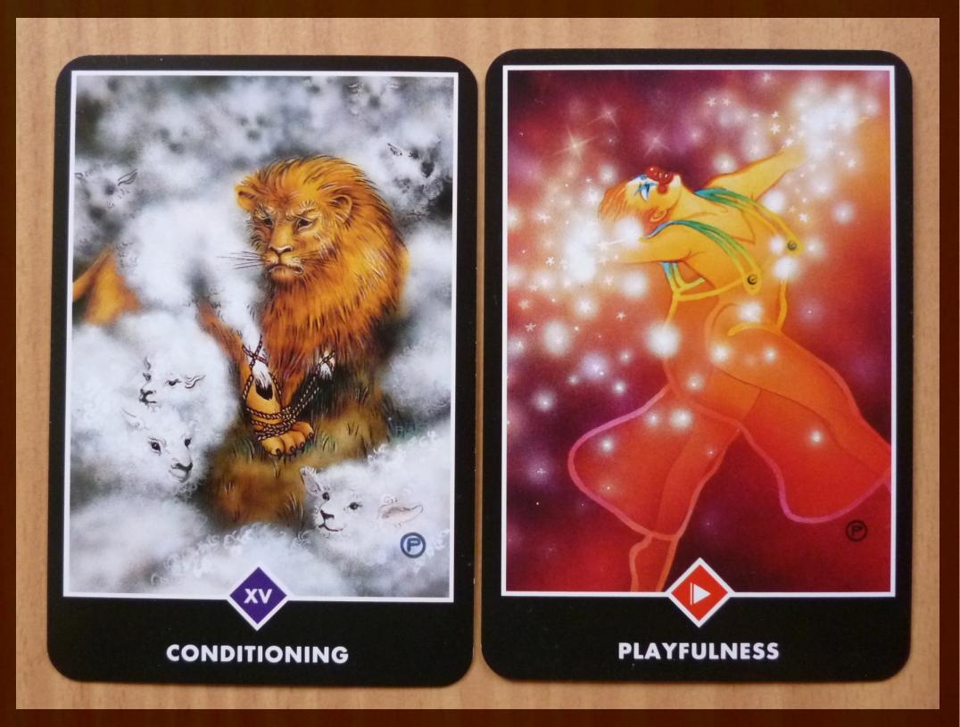 osho zen tarot conditioning playfulness