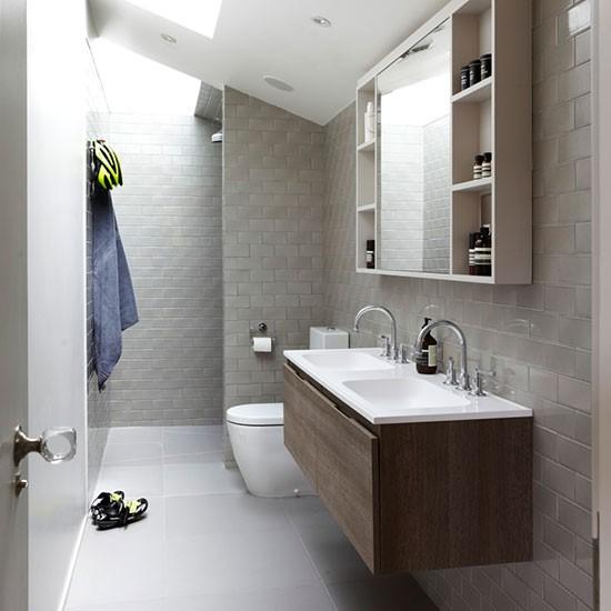 Reforma Baño Estrecho:Una casa chic y familiar inspirada por la vida de hotel