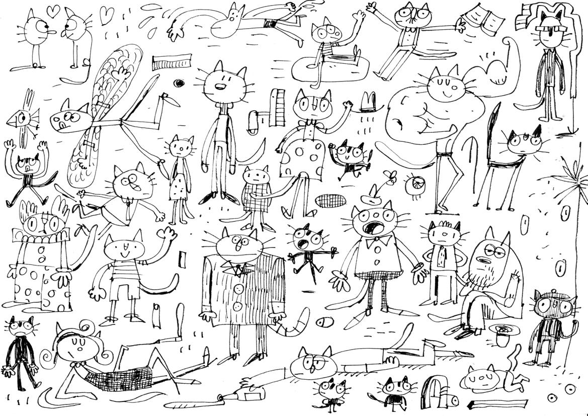 Fred Blunt Doodles April 2012