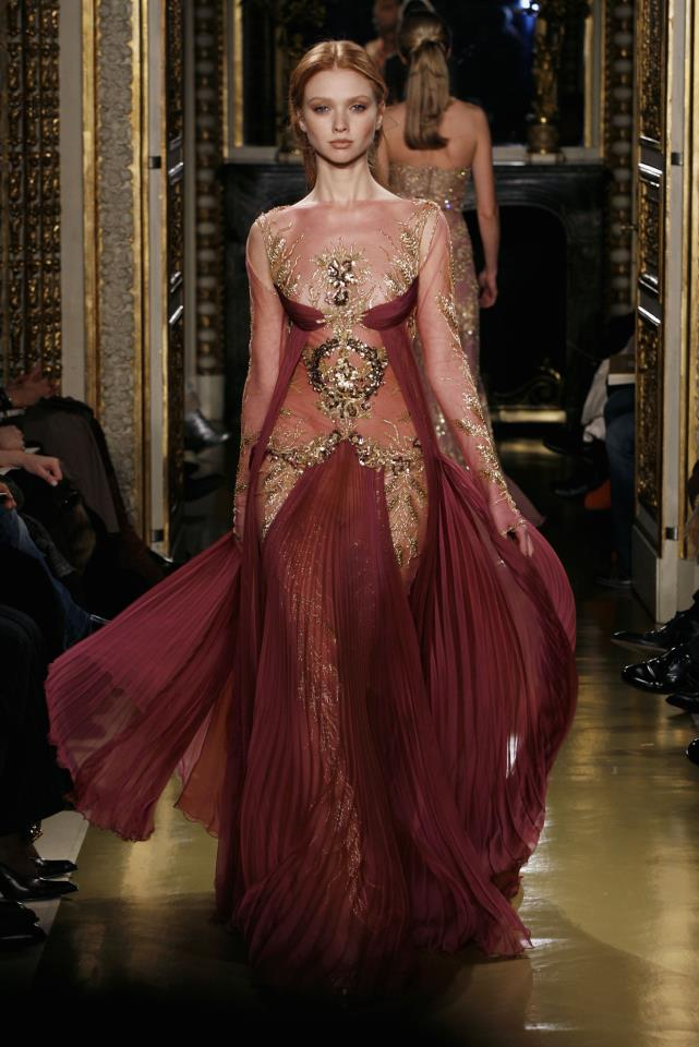 1001 fashion trends zuhair murad haute couture dresses for Haute couture labels