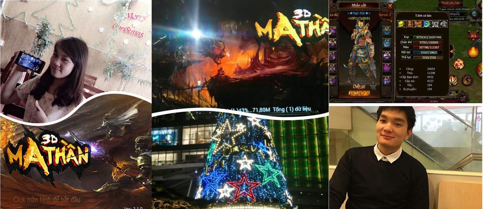 Ma Thần 3D tặng Giftcode mùa giáng sinh