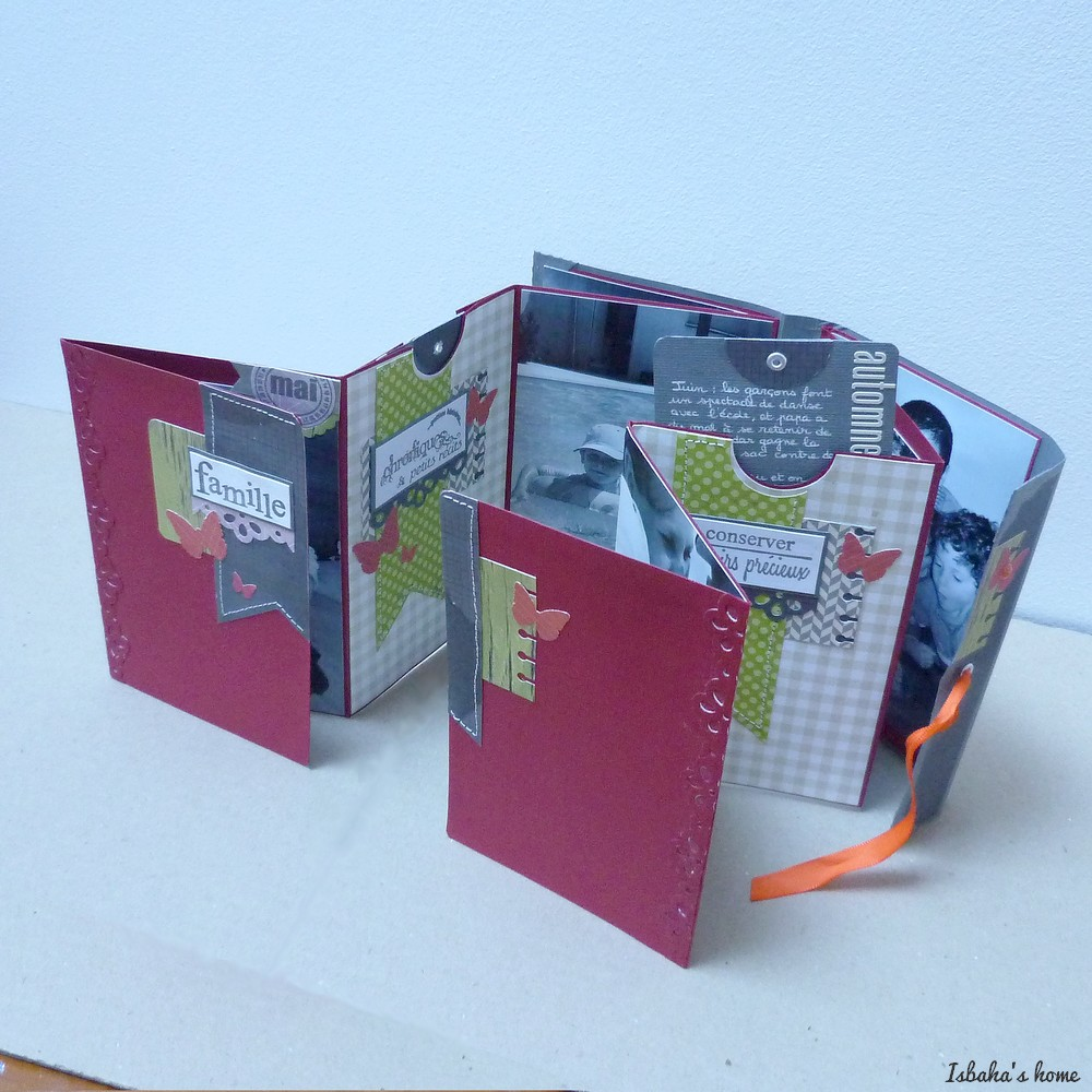 a quick and easy mini album (with a tutorial)