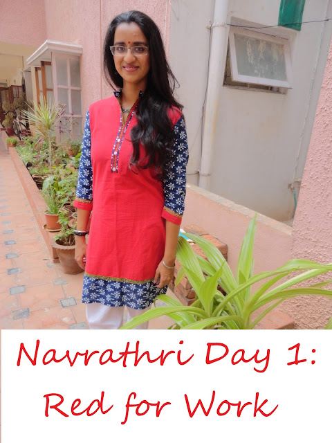 Navrathri Day 1: Looking Festive at Work with Priniva image