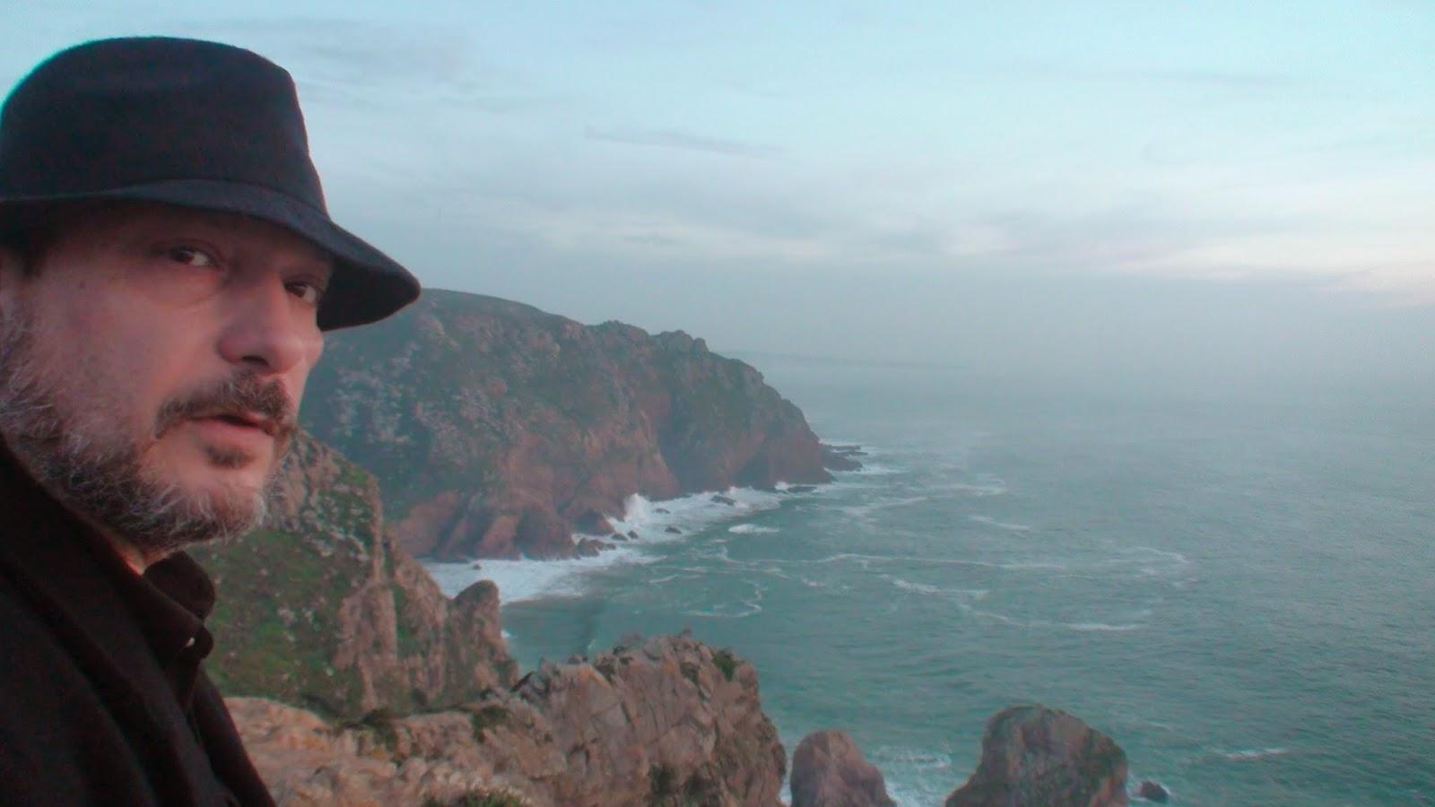 Mario Fattorello en Cabo da Roca
