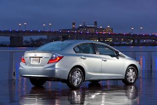 2012 Honda Civic Lineup Debut in NYIAS