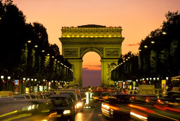 Champ elysee arrondissement