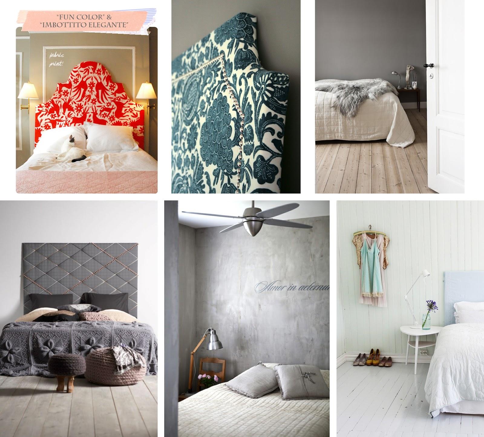 Varie soluzione per una nuova testiera shabby chic interiors - Come realizzare una testata del letto ...