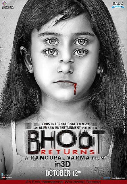 RGV's 'Bhoot Returns' First Look Poster