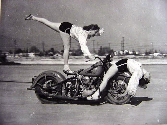 Vintage everyday amazing vintage photos of early women motorcycle
