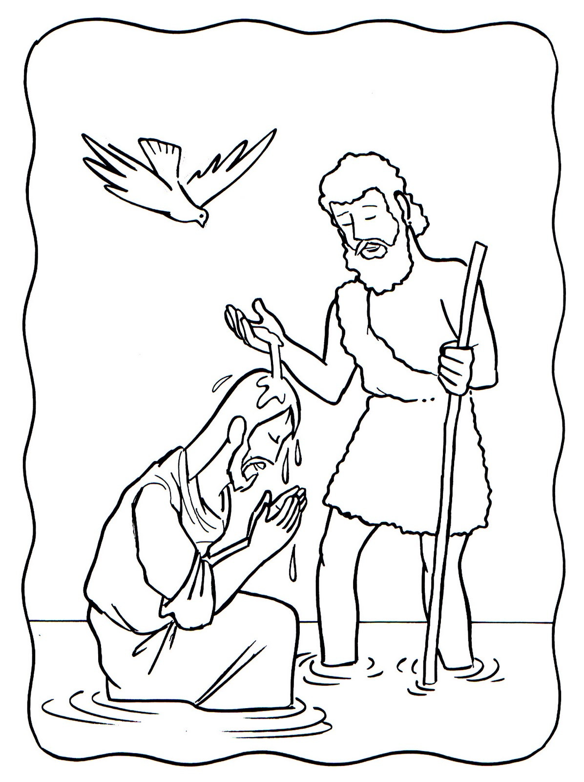 Lujoso Jesús Colorear Página Lds Friso - Dibujos Para Colorear En ...