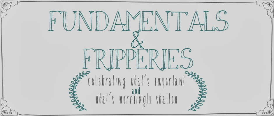 Fundamentals and Fripperies