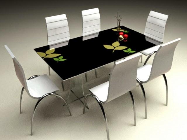 bàn ăn kính
