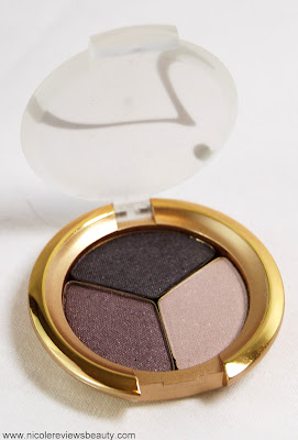 Jane Iredale PurePressed Eye Shadow Triple in Sundown Swatches