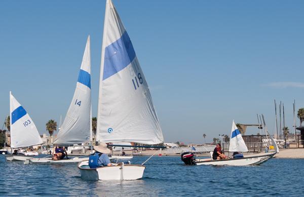 Sailing class at MBAC