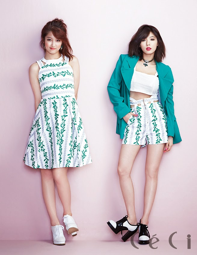 4Minute - Ceci Magazine April Issue 2014