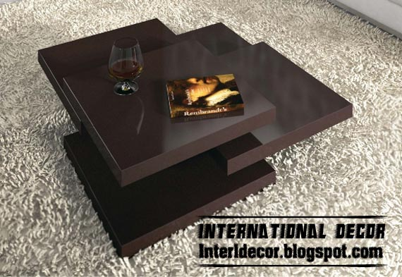 Modern Coffee Table Designs For Decor Accessories - Home Interior ...