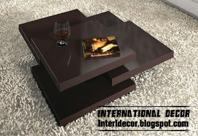 black coffee table design Modern Coffee Table Designs for Decor Accessories