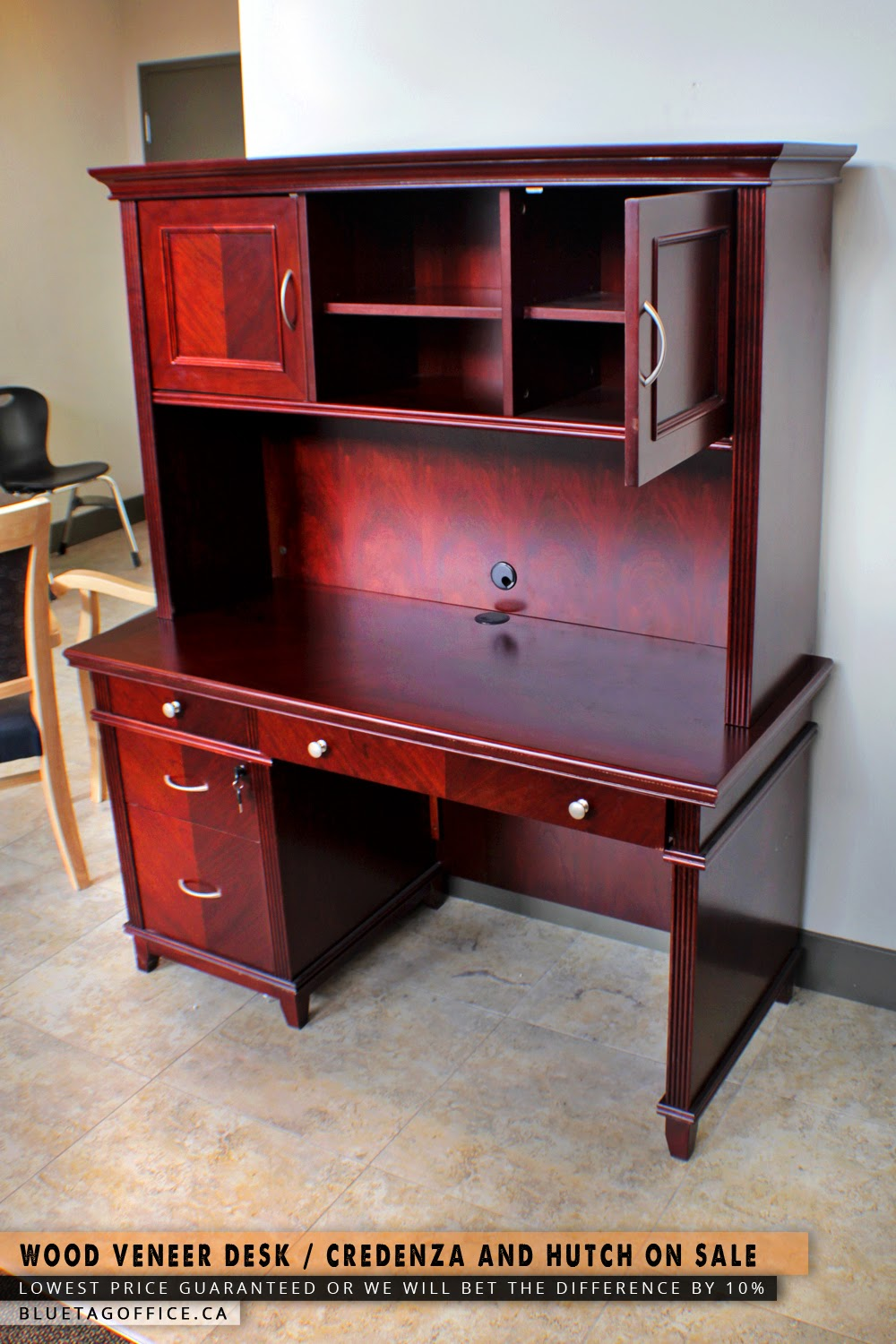Office chair on sale in canada wood veneer desk credenza for Very cheap furniture for sale