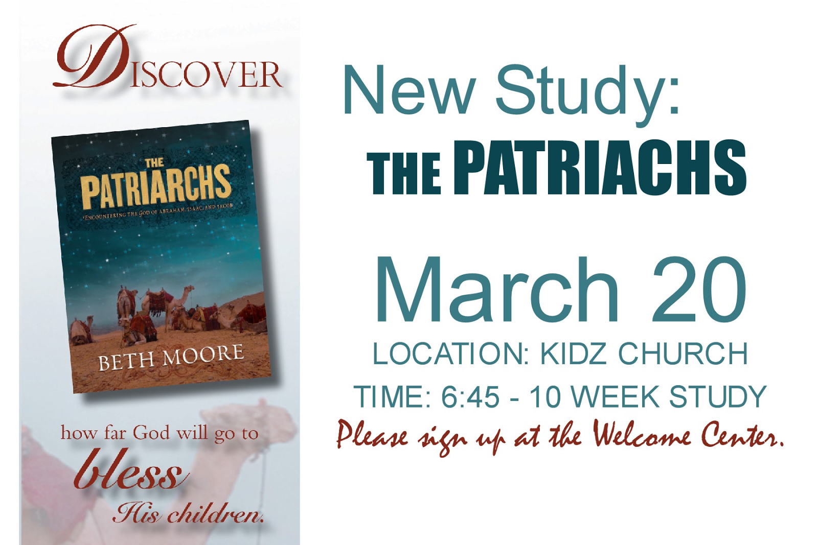The Patriarchs (Bible Study Book): Encountering the God of ...