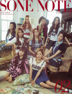 Cover of SONE NOTE 2 by Girls' Generation